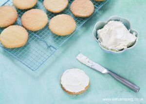 Cómo hacer galletas de mantequilla paso 2