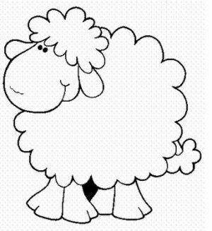 Dibujo de oveja