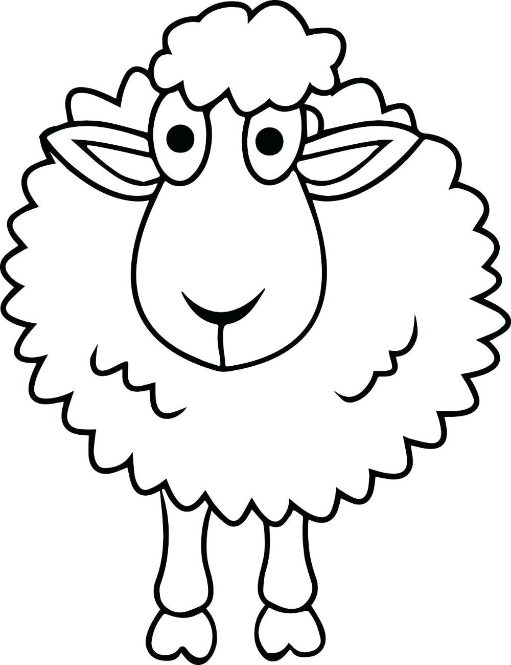 Dibujo de ovejita