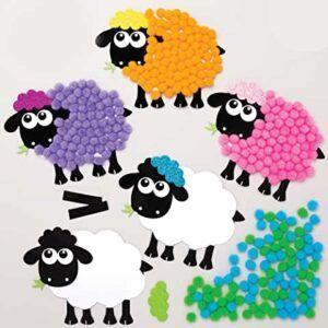 Comprar manualidad para hacer imanes de oveja