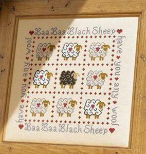 Comprar kit de punto de cruz de ovejitas
