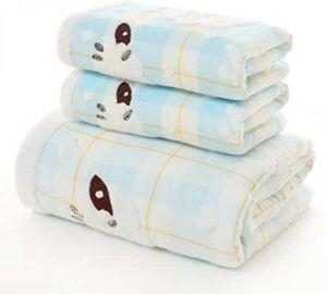 Toallas para baño con diseño de ovejita