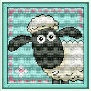 Comrpar kit punto de cruz oveja