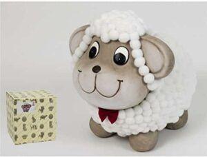 Comprar hucha infantil con forma de ovejita