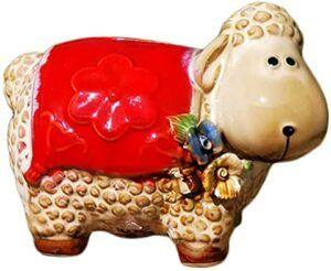 Comprar alcancía con forma de oveja
