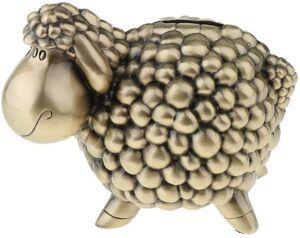 Comprar alcancía metálica con forma de oveja