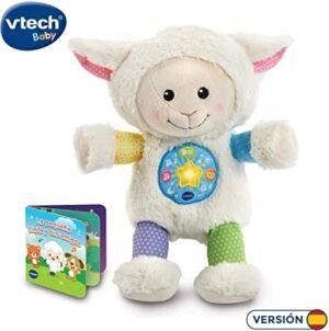 La pequeña Linda musical oveja con luz y sonido
